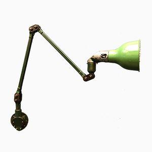 Grüne englische Wandlampe von Mek Elek, 1931