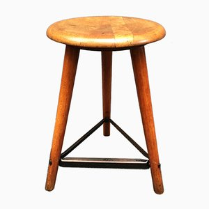 Vintage German AMA Work Stool, 1930s