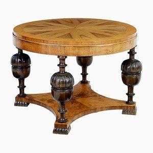 Tavolino da caffè Art Déco in olmo e betulla, Svezia, anni '30