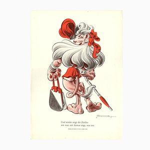 Vintage V-Und Wieder zeigt der Zurileu wie man mit Anmut tragt, was neu Poster by E. Shoenenberger, 1943
