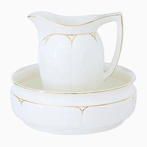 Pichet et Bol de Toilette Mid-Century de Annaburg