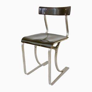 Silla modelo WB 301 de Marcel Breuer para Wohnbedarf, años 30