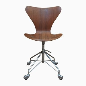 Vintage Series 7 Chair by Arne Jacobsen for Fritz Hansen, 1960s