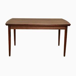 Tavolo vintage allungabile in palissandro di Johannes Andersen per Samcom