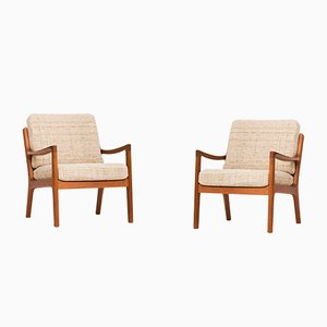 Easy Chairs by Ole Wanscher for Cado, 1950s, Set of 2