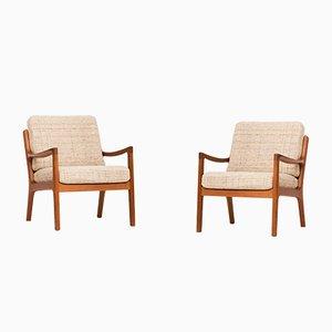 Sessel von Ole Wanscher für Cado, 1950er, 2er Set