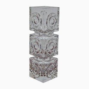 Moderne schwedische Vase von Bengt Edenfalk für Royal Crona, 1960er