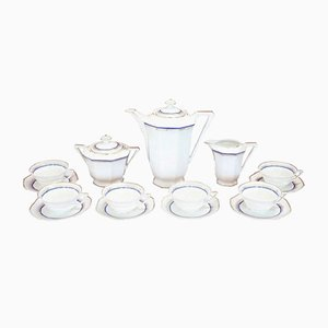 Vintage Limoges Porcelain Tea or Coffee Set, 1940s