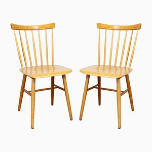 Scandinavian Dining Chairs, 1960s, Set of 2