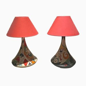 Italian Table Lamps by Klaus Vietri, 2007, Set of 2
