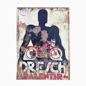 Dresch Advertising Sign, 1928