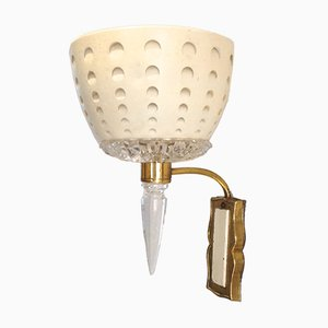 Mid-Century Modern Wall Lamps, 1950s, Set of 2
