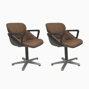 Model 190 Office Chair by Hans Roericht for Wilkhahn, 1979, Set of 2