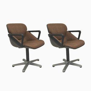 Modell 190 Bürostühle von Hans Roericht für Wilkhahn, 1979, 2er Set