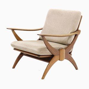 Mid-Century Armlehnstuhl aus Teak von Ster Gelderland, 1950er