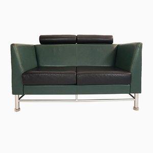 Sofá de dos plazas Eastside vintage de Ettore Sottsass para Knoll