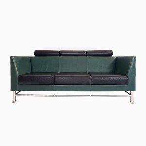 Sofá de tres plazas Eastside vintage de Ettore Sottsass para Knoll