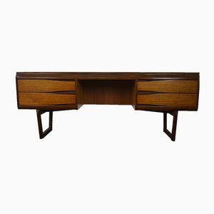 Mid-Century Teak & Afromosia Desk & Dressing table from White & Newton, 1960s