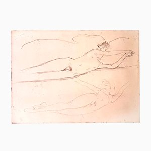 Incisione Dream di Jean Gabriel Domergue, 1924