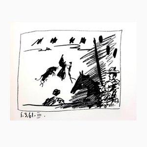 Lithographie Jeu de la Cape par Pablo Picasso, 1961