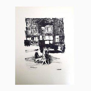 The Street Radierung von Pierre Bonnard, 1927