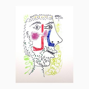 Le Gôut du Bonheur Lithografie von Pablo Picasso, 1970