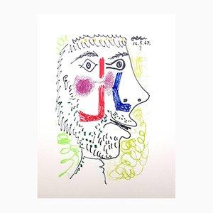 Lithographie Le Gôut du Bonheur par Pablo Picasso, 1970