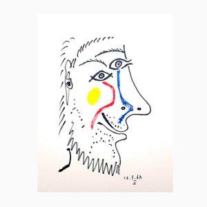 Litografia Le Goût de Bonheur di Pablo Picasso, 1970