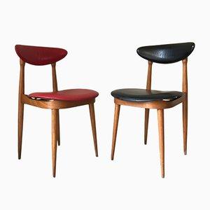 Mid-Century Unicorn Stühle von Pierre Guariche für Baumann, 2er Set