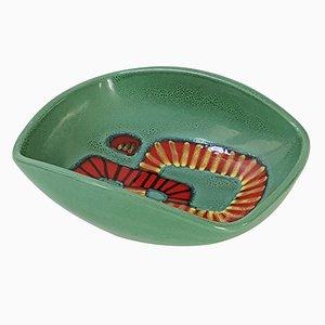 Französische Mid-Century Keramikschale von Elchinger