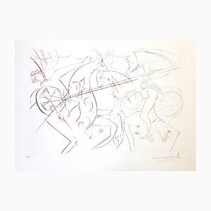 Incisione The Garde di Salvador Dali, 1975
