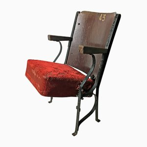 Vintage Theatre Chair