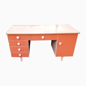 Desk with Back Shelf, 1970s