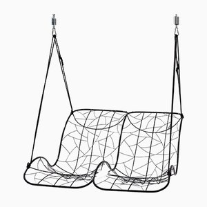 Double Recliner Hanging Swing Chair from Studio Stirling