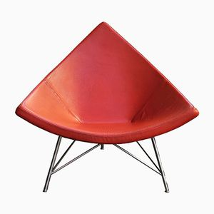 Schweizer Vintage Coconut Chair von George Nelson