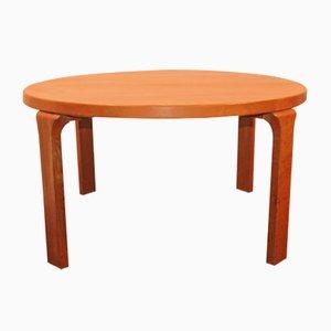 Table Basse Ronde en Bois de Drylund