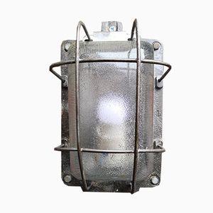 Industrial Polish Explosion Proof Bulkhead Lights, 1960s