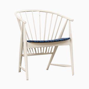 Vintage Sonnenfeder Stuhl von Sonna Rosén für Nässjö Stolfabrik