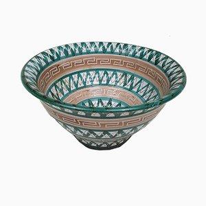 Französische Vintage Salatschüssel aus Keramik von Robert Picault