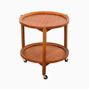 Mid-Century Danish Teak Trolley from Sika Møbler, 1960s