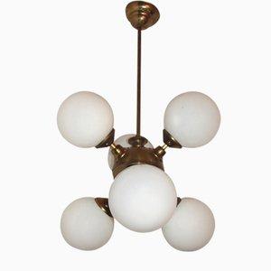 Lámpara de araña Mina Mid-Century, años 60