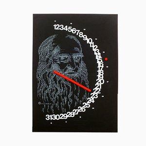 Meridiana Ewiger Kalender von Giulio Confalonieri für Paolo Nava, 1982