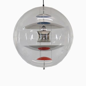 Vintage VP Globe Ceiling Lamp by Verner Panton for Louis Poulsen