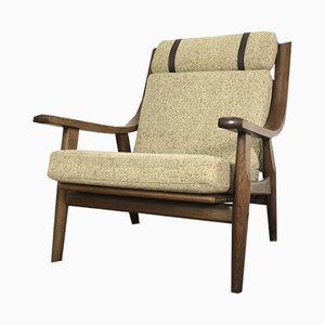 GE 530 Lounge Chair by Hans J. Wegner for Getama, 1970s
