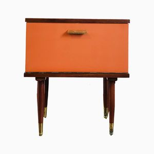 Vintage Bedside Table, 1960s