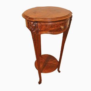 Art Nouveau Mahogany Table from Louis Chambry