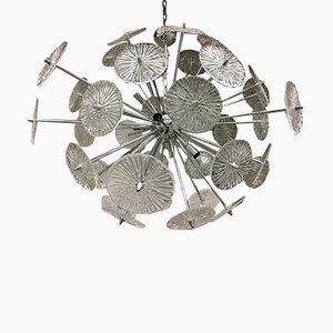 Lustre en Verre Murano Triedo Sputnik de Italian light design