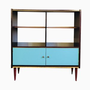 Vintage Mahogany Bookcase, 1960s
