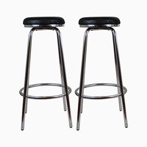 Vintage Italian Stools, 1960s, Set of 2