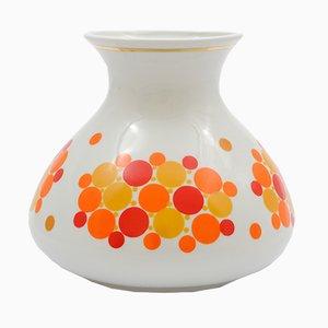 Vaso vintage in porcellana di Chodzież, Polonia, anni '70